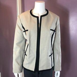 Jones Studio Separates Open -Front Suit Jacket